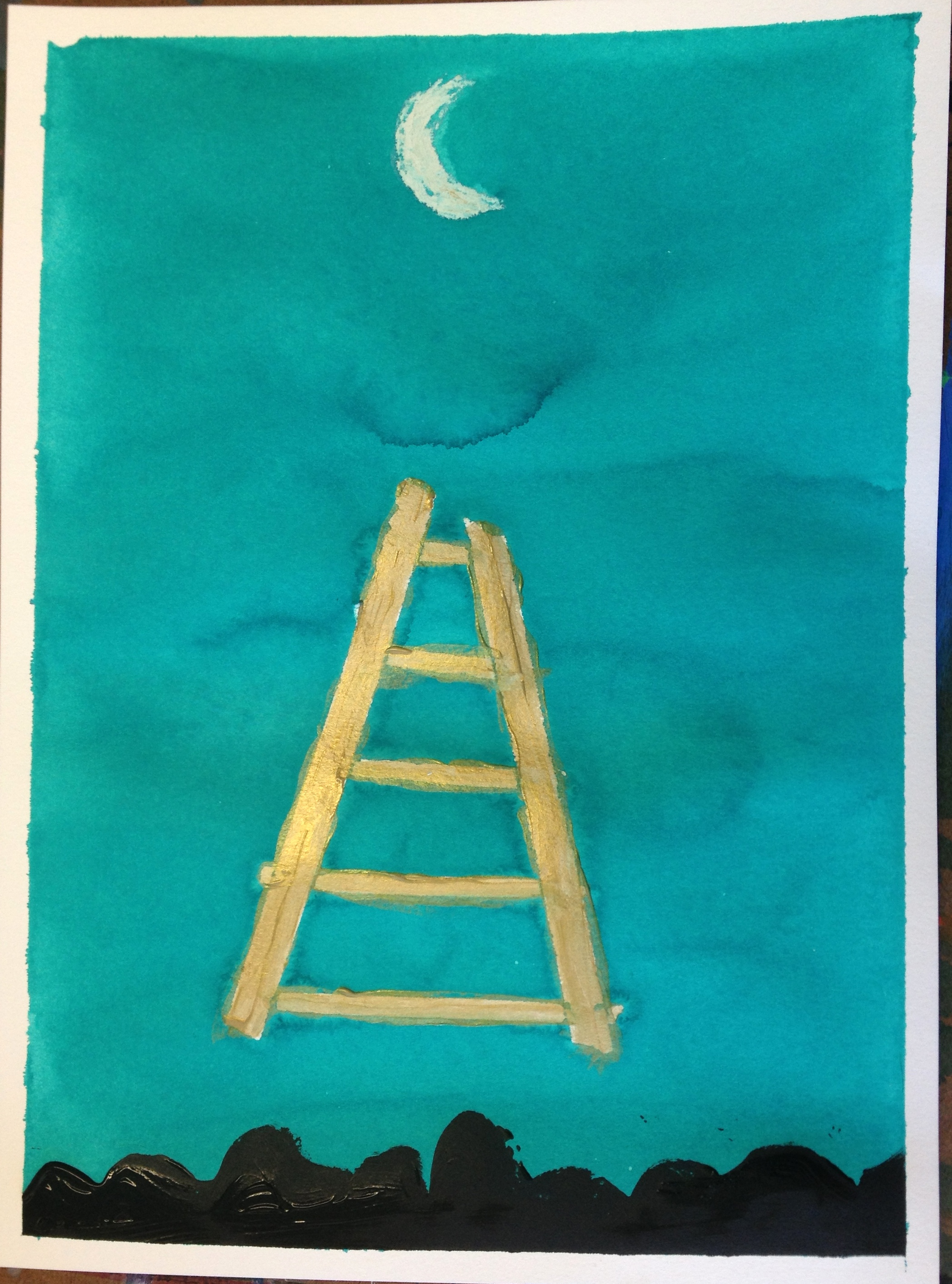 Georgia O'Keeffe – Ladder to the Moon | Art in Action
