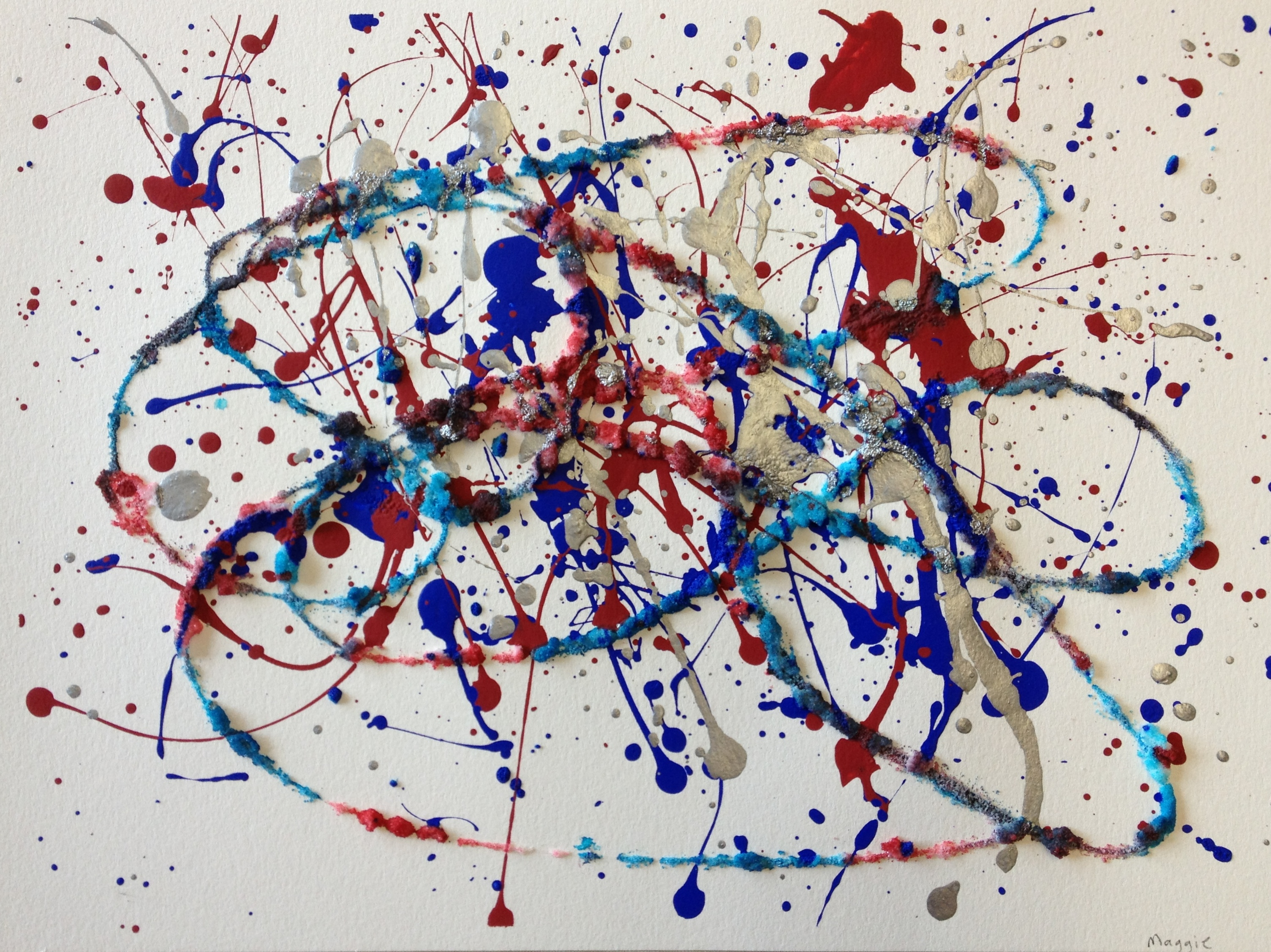 Famous Abstract Line Art : Art in the classroom action